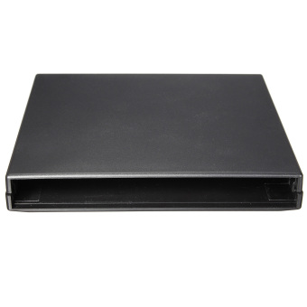 USB IDE Laptop Notebook CD DVD RW Burner ROM Drive External Case Enclosure Caddy - 4