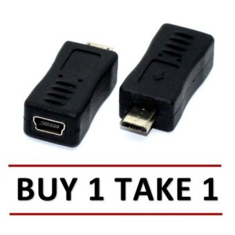 USB Mini Female to Micro Male Adapter