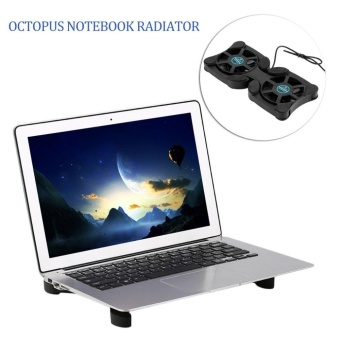 USB Port Mini Octopus Notebook Fan Cooler Cooling Pad For 14 INCH Laptop