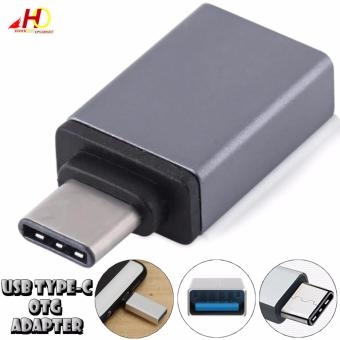 USB Type-C to USB 3.0 Female OTG Adapter (Grey)