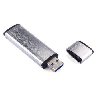 USB3.0 Metal Flash Drive128GB Silver