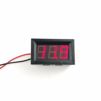 V27 PC Motorcycle Car Volt Meter DC 4.5v-30v