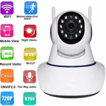 V380+ Wifi wireless 1080P HD IP SECURITY CAMERA (White)