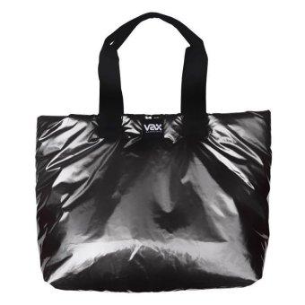 "Vax Barcelona Ravella Woman Tote Bag 16"" Metallic Grey"