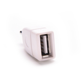 Velishy Male Audio Plug Jack to USB 2.0 Female Converter AdapterPlug 3.5mm - 2