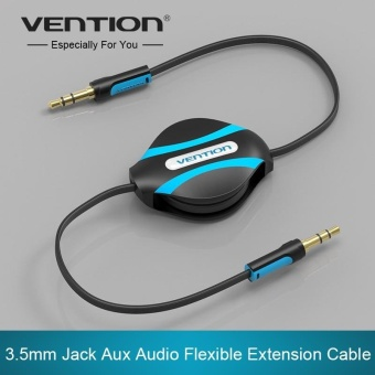 Vention 3.5mm Jack Male To Male Flexible Retractable Stereo AuxAudio Cable Cord - intl