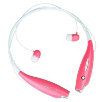 Verygood HBS-730 jabra style Sports Wireless Bluetooth StereoHeadphone (Pink) Price Philippines