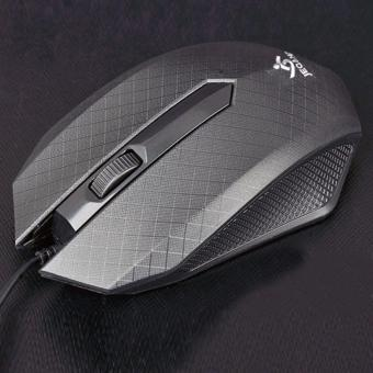 Verygood Jeqang USB wired mouse notebook desktop general cheapmouse cost-effective JM-028 (Black) Price Philippines