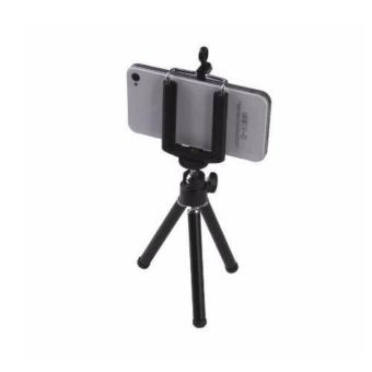 VeryGood Tripod Stretchable Tabletop Bracket Portable Holder SelfieStick (Black) with Free Mini Foldable All-In-One Monopod withRemote Clicker (Black) - 2