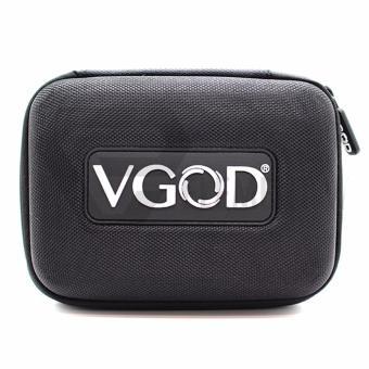 VGOD all-in-one Custom Nylon Canvas Zipper Case Bag for ElectronicCigarette (Black) - 4