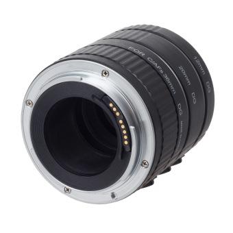 Viltrox ET-C Auto Macro Extension Tube Ring Set for Canon SLR / DSLR Black