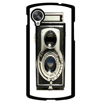 Vintage Camera Phone Case for LG Nexus 5 (Black)