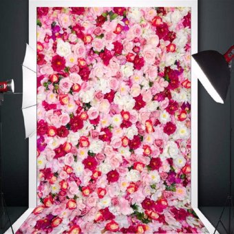 Vinyl Background Cloth Photography Lover Rose Photo Backdrop Studio Props 3x5ft - intl