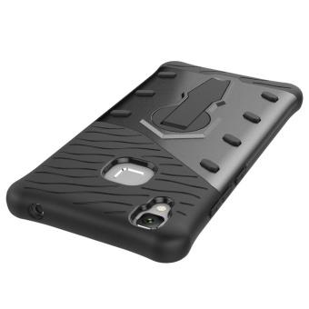 Vivo V3 Case, [Kickstand Feature] Rotate Stand Holder ProtectiveShell Hybrid Bumper Armor Rubber Shockproof Case Cover for Vivo V3- intl - 4