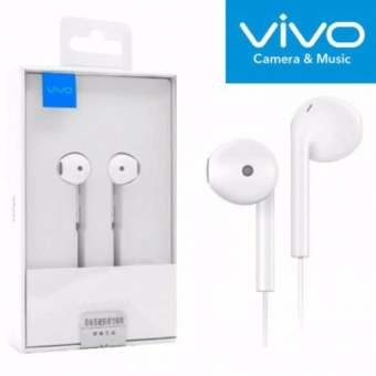 VIVO XE680 In-Ear Wired Headset Earphone In White-good - 4