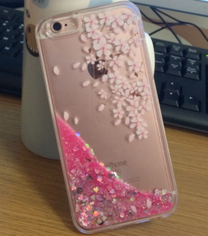 VIVO y55 Japan and South Korea cherry glitter phone case