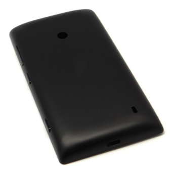 Vococal Back Cover for Nokia Lumia 520 (Black)