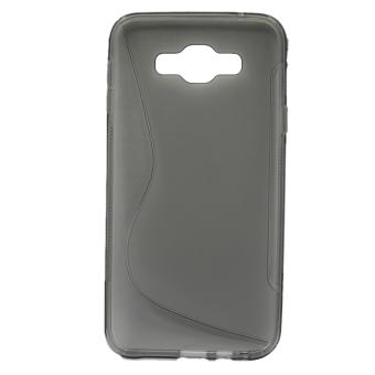 Vococal Flexible Protective Case for Samsung Galaxy E7 (Grey)