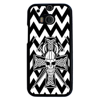 Volleyball Pattern Phone Case for HTC One M8 (Yellow)