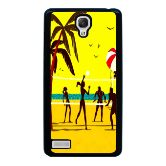 Volleyball Pattern Phone Case for Xiaomi Redmi Note (Black)