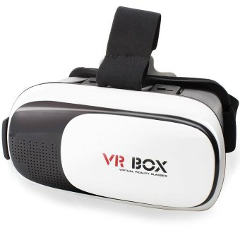 VR Box 3D Virtual Reality Glasses for Smartphone (White/Black) Price Philippines