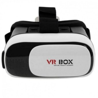 "VR BOX Google Cardboard Virtual Reality 3D Glasses for 3.5- 6.1""Phone (White) Price Philippines"