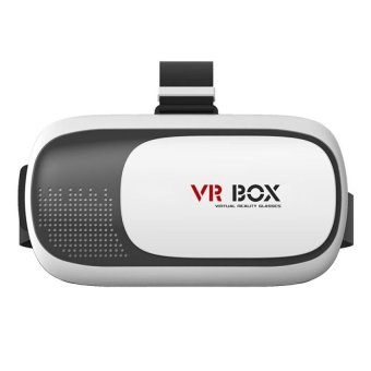 VR Box II (VER 2.0) 3D Virtual Reality Glasses Headset Gear - intl