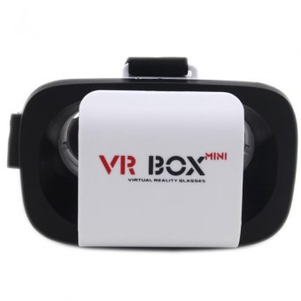 VR BOX Mini Virtual Reality 3D Glasses (BlackWhite) Price Philippines