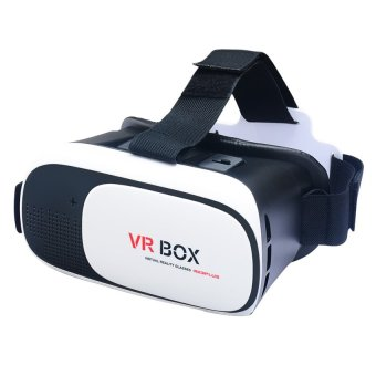 VR Box Plus 3D Virtual Reality Glasses (Black)