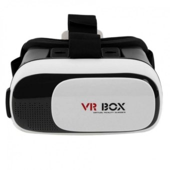 "VR BOX Virtual Reality 3D Glasses for 3.5- 6.1"" Phone (White) Price Philippines"