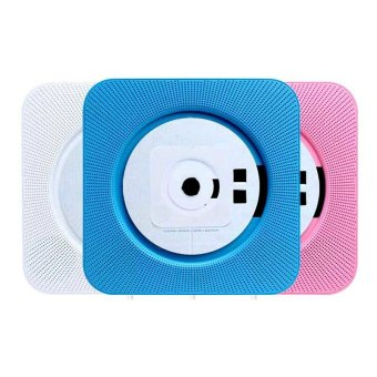 Wall Mounted CD Player Portable Turntable Home FM Radio CD AudioPrenatal Education Early Learning English Bluetooth Speaker - intl - 3