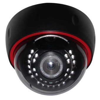 Warden Security WI-IP720PDC IP Dome Camera (Black) - picture 2