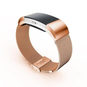 Watch Band Strap for Fitbit charge 2 Milanese Stainless Steel Watch Band - intl - 2