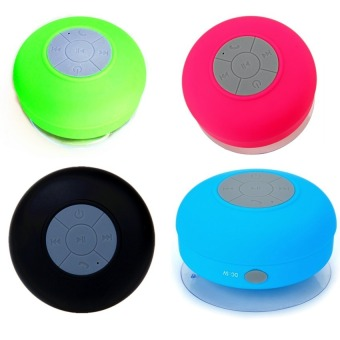 Water Resistant Silicone Bluetooth Speaker Set Of 4 (Any Color)