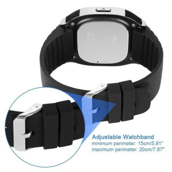 Waterproof Bluetooth Smart Watch Smartwatch With LED Alitmeter Music Player Pedometer For Mobile Phone smartphone Color Black - 3