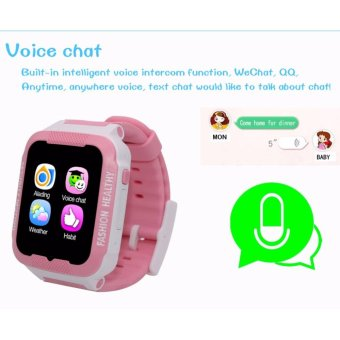 Waterproof C3 Smartwatch GPS Tracker kids Smart watch Phone Support SIM card Anti Lost SOS Call Children Bluetooth Activity Finder Fitness Tracker WristWatch Bracelet Safety Monitor APP Parents Control for iOS Android - intl - 5