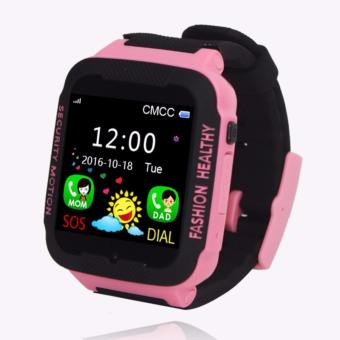 Waterproof C3 Smartwatch GPS Tracker kids Smart watch Phone Support SIM card Anti Lost SOS Call Children Bluetooth Activity Finder Fitness Tracker WristWatch Bracelet Safety Monitor APP Parents Control for iOS Android - intl