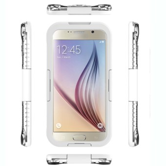 Waterproof Case for Samsung Galaxy S6 / S6 Edge (White)