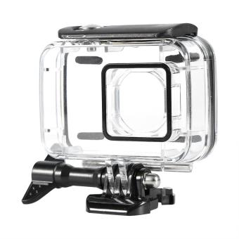 Waterproof Diving Housing Case For Xiaomi Yi 2 4k SportCamera(black) - intl