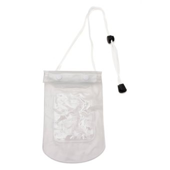 Waterproof Phone Pouch (White)