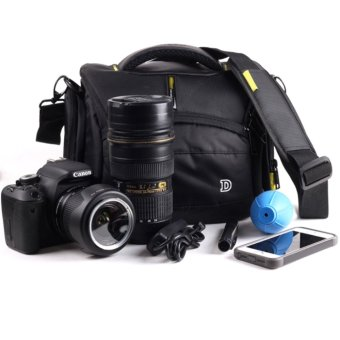Waterproof Pot-Bellied Camera Case Bag for Nikon D90 D7000 D7100D7200 D3100 D3200 D3300 D3400 D5100 D5200 D5300 D5500 D750 D500P900S - intl