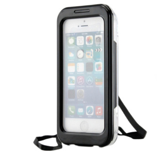 Waterproof Shockproof Dirt Proof Cover for iPhone SE/5S/5 (Black)