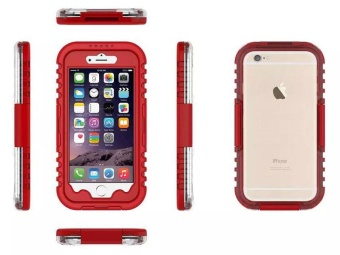 Waterproof Sports Diving Protective Case For Apple iPhone 7 Plus(Red)