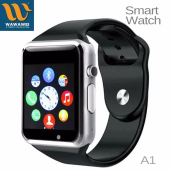 Wawawei A1 Bluetooth Smart Watch With SIM Phone Call Take Selfiefor iPhone and Android