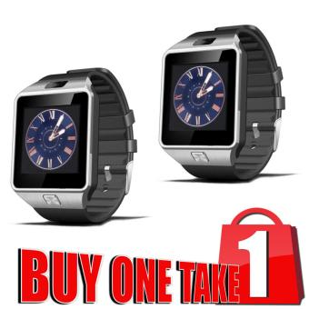 Wawawei DZ-09A1/M8/M9/U8 Phone Quad Smart Watch Enhanced EditionBuy1 Take 1 (Grey/Black)
