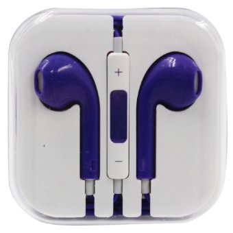 wawawei In-Ear Headphones for iphone (Purple)