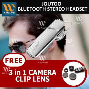 Wawawei Joutoo BEST Wireless Bluetooth Headset#M999 (white) withFREE Camera Clip Lens