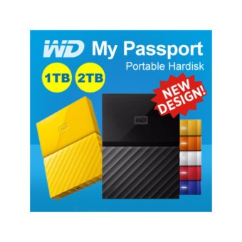 WD My Passport 2017 2TB USB 3.0 Portable External Hard Drive (Black) with FREE WD Soft Pouch, WD Kroll OnTrack and Neo Premium Wireless Mouse - 5