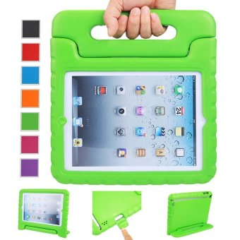 Welink Apple iPad 2/3/4 EVA Case / Shockproof Case Light WeightKids Case Super Protection Cover Handle Stand Case For Apple iPad2/3/4 (Green)