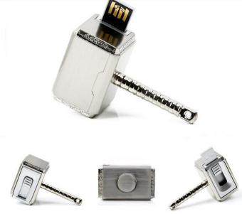WHD Avengers Thor Hammer USB Flash Drive 8GB (Silver) - Intl